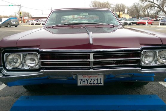 """What a cool Car to work on! 1965 Oldsmobile Starfire. A rare car indeed. This thing is Cherry!. Kenwood Excelon KDCX301 Bluetooth Headunit, Infinity Reference 6.5 Components in the kicks with matching 6x9""""s in the rear deck. Excelon XR900-5 5 channel running the system at 900 watts with the Single 12 Kicker CompRT enclosure bring out the bottom end. Very clean with a nice low end fill. IT ROCKED !!!!!"""