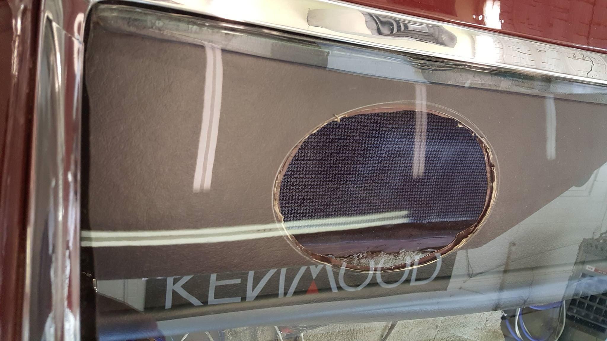 1966 Pontiac sound system installation