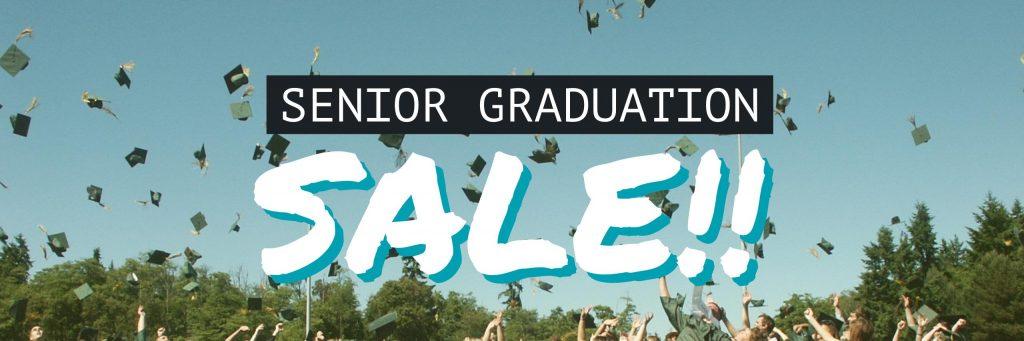 graduation sale