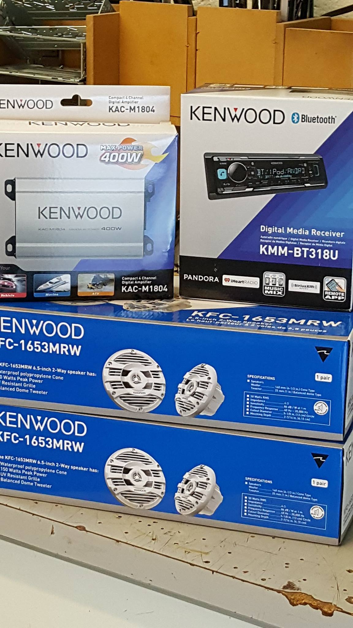 kenwood marine products