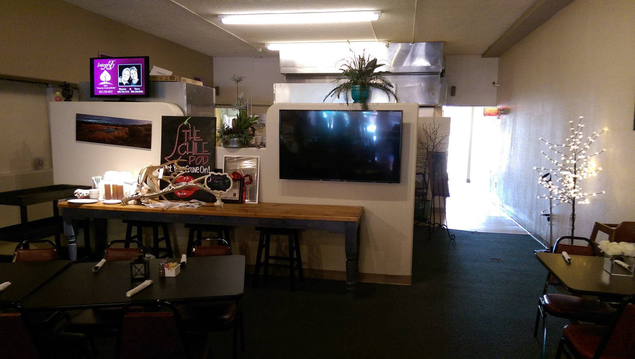 4k samsung installation in farmington nm at The Chile Pod
