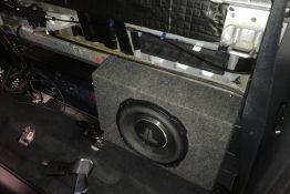 car stereo custom install by paradise village in farmington nm using